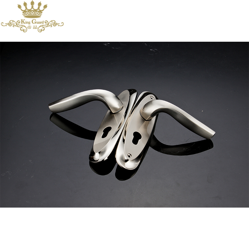 Cheap door handle in china zinc alloy chinese door handle in china
