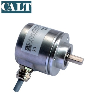 CALT 60mm Solid 축 Single 켜 13 16 bits 32768 resolution SSI output 절대 rotary encoder