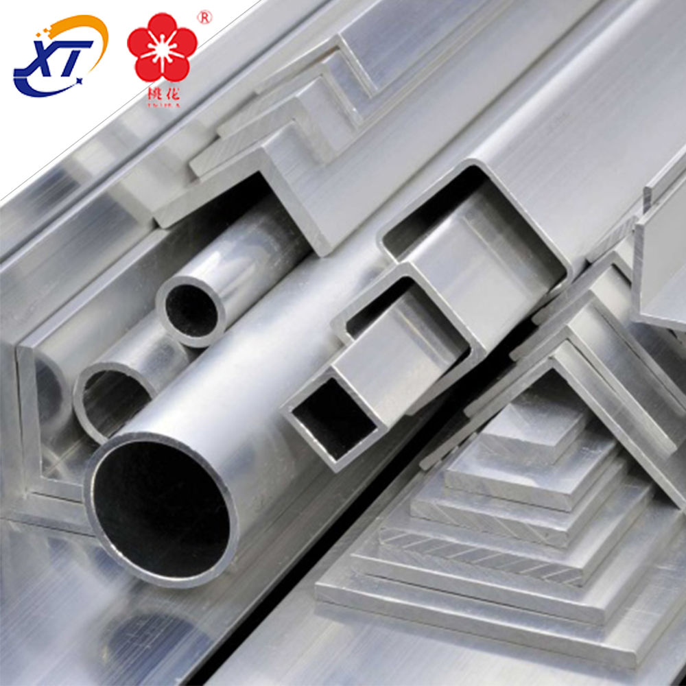 Supply Square Aluminum Extrusion / Aluminium SquareHollow Section / Extruded Aluminum Tube For Industry