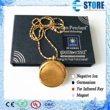 Stainless Steel Pendant Negative Ions Charming Pendants Gold Pendant 2015 Hot