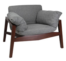Euro wood relax leisure lounge sofa chair