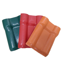 Foshan factory spanish roof tiles prices/30 years long life span ASA synthetic resin roof sheet