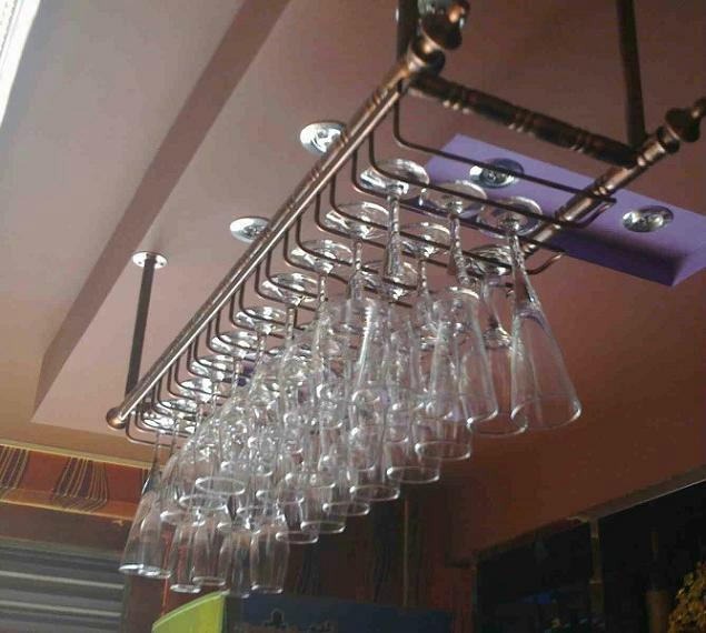 80 30cm fashion bar red wine goblet glass hanger holder. Black Bedroom Furniture Sets. Home Design Ideas