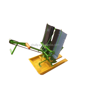 Two Row Hand Cranked Manual Rice Transplanter Machine Price/Rice Planting Machine in India