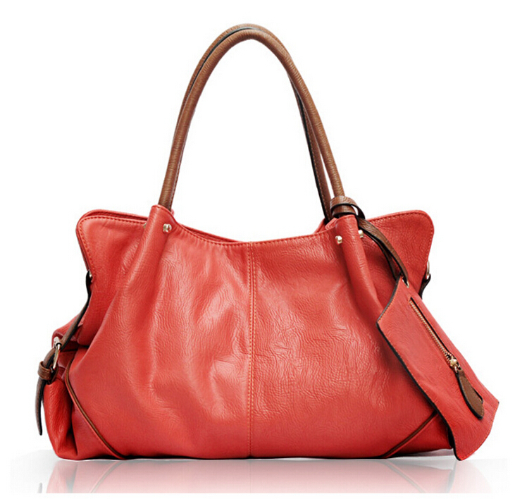 2015 Fashion women Genuine leather designer handbags high quality Totes handbag and a purse The Female Bag