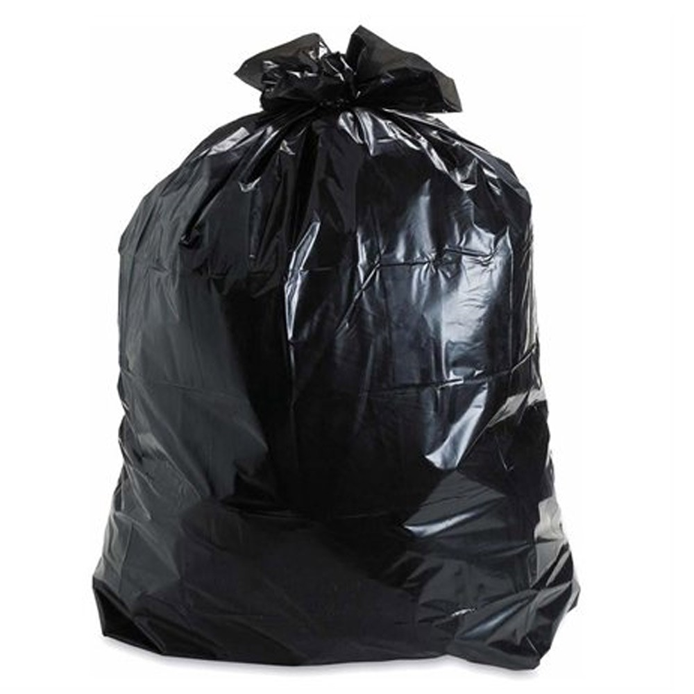 Ldpe Hdpe Lldpe Garbage Bag Tie Black Trash Bags On Roll