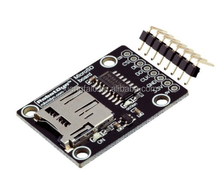 Micro SD card high speed module. 3.3V/5V Universal, for 3.3V and 5V logic. For microSD and MMC card