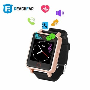 Wifi GPS LBS Locating Way IP67 Waterproof Mobile Smart Watch Touch Screen Hand Watch