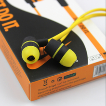 High Quality In-Ear Wired Stereo Headphones headset Earphone earpod For all mobile phone and mp3/mp4