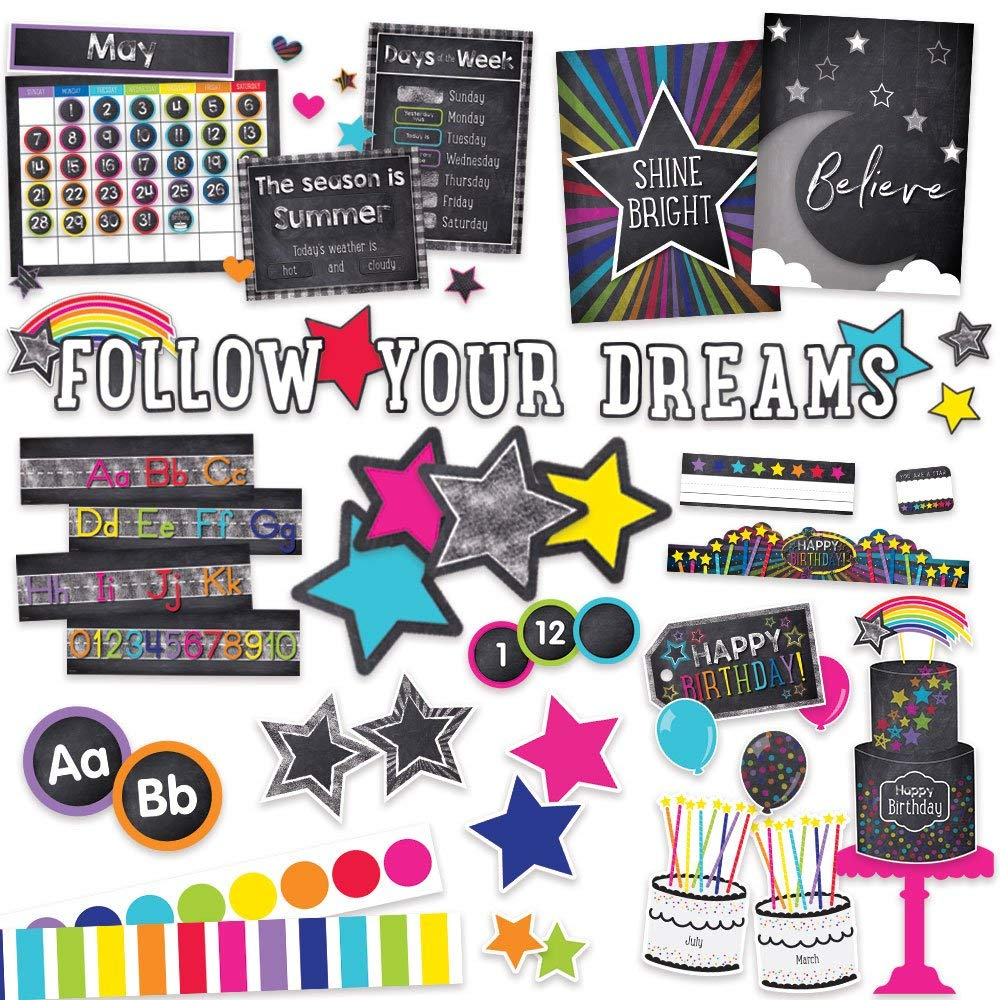 Twinkle Twinkle You're A Star Classroom Environment Décor All In One Kit
