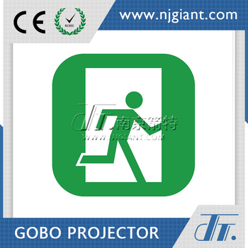 custom gobo emergency exit lights led fire safety exit signs project