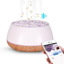 2018 Ultrasonic Aromatherapy Speaker Essential Oil Difuser Bluetooth Aroma Diffuser