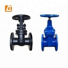 Russia Wedge 6 inch ductile iron gate valve wcb cast steel iron flanged gate valve pn16 30c41nj sluice gate valve for industrial