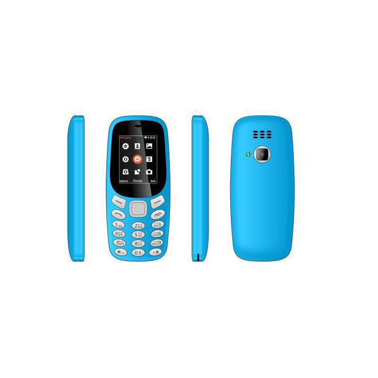 Chinese orignal 2.4 inch OEM dual sim card 2G feature phone for nokia 3310