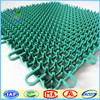 outdoor Square patteren PP Interlocking sports basketball flooring