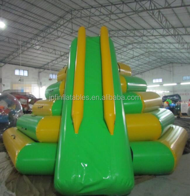 Best price air tight 2019 water park slide with pool for sale