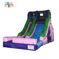 Commercial outdoor used inflatable water slide for party rental