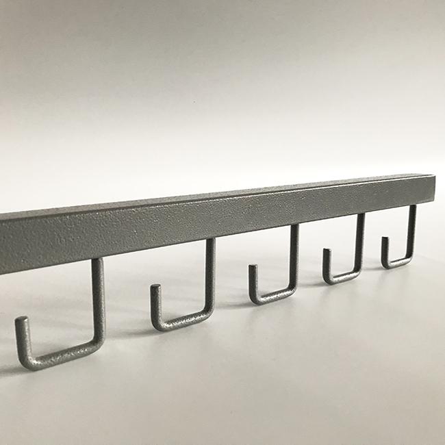25-inch SUS 304 Stainless Steel Wall Mounted Towel Bar Rail Rack ROVATE Bathroom Towel Shelf with 5 Towel Bars Chrome