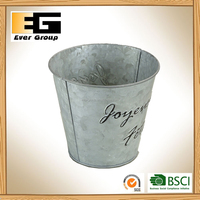 Zinc Water Tub for Garden Planter