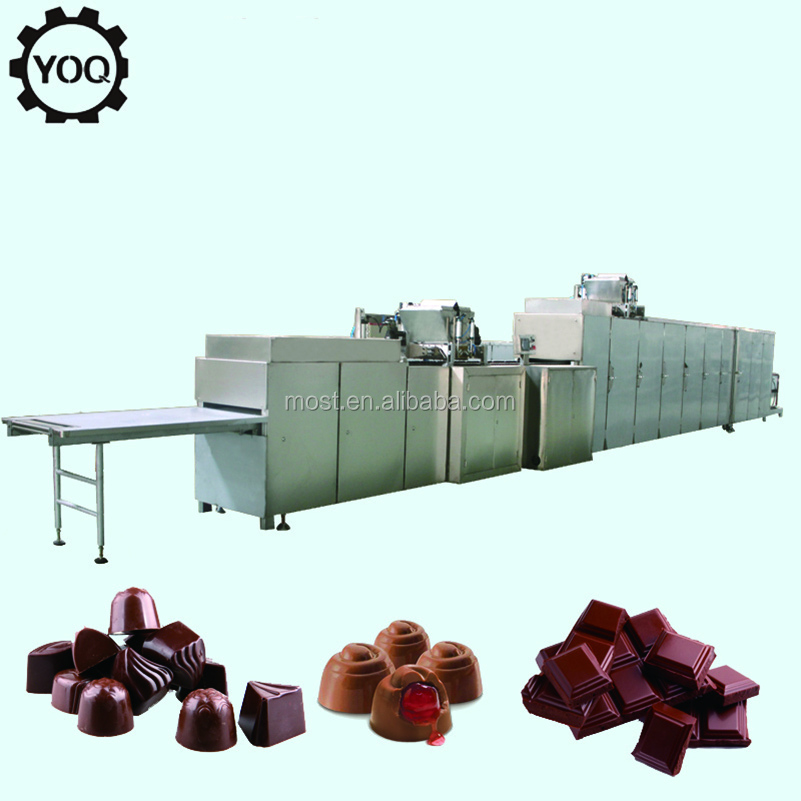 B0593 Chocolate Candy Molding Machine Chocolate Making Equipment For Sale