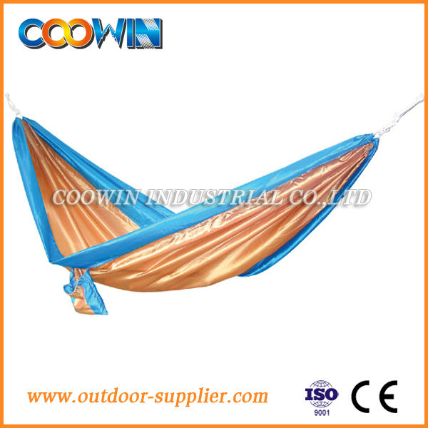 2014 new outdoor folding hammock with canopy