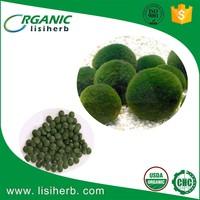 Top grade health food certified organic chlorella/spirulina tablets