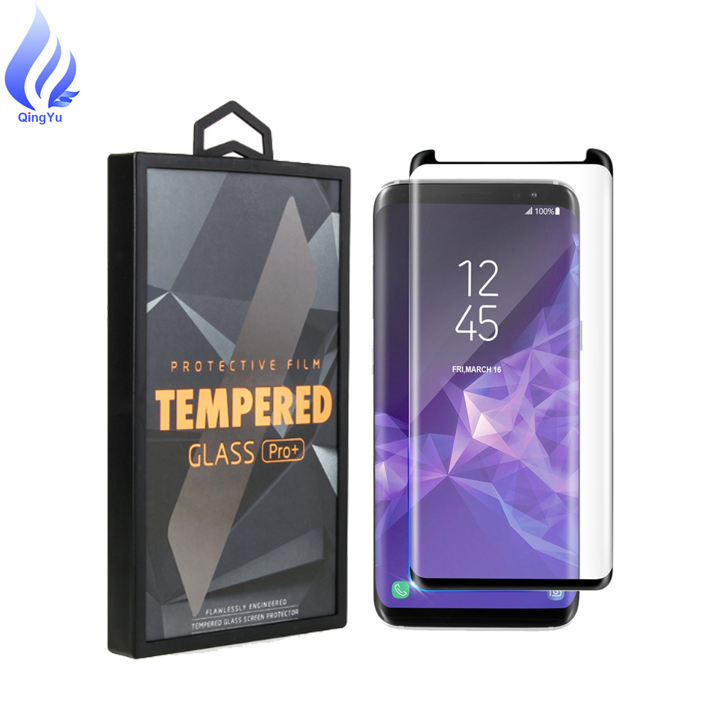 Wholesale Premium Quality For Galaxy S9 Plus Screen Protector Tempered Glass, 9H 5D Full Coverage Glass Cover For S9 No bubble