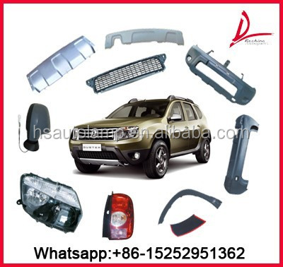 Dacia Duster/Renault Duster Body Parts Head lamp Grille Bumper Mirror