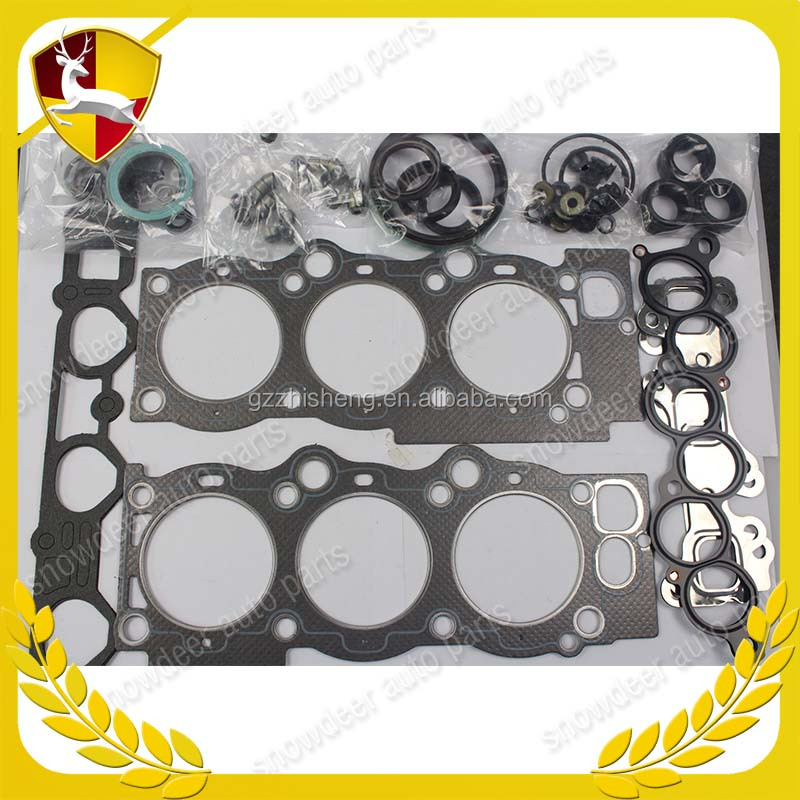 Top quality Auto Engine full gasket set 3VZFE cylinder head gasket kit with 47mm cylinder kit