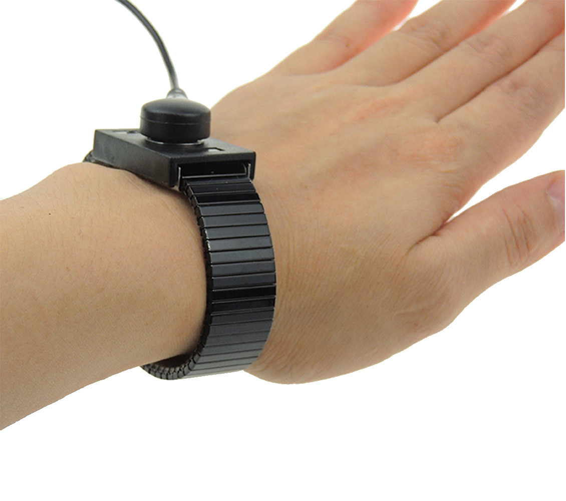 Anti Static Wrist Strap Grounding Electricity Discharge ESD Band Bracelet GW