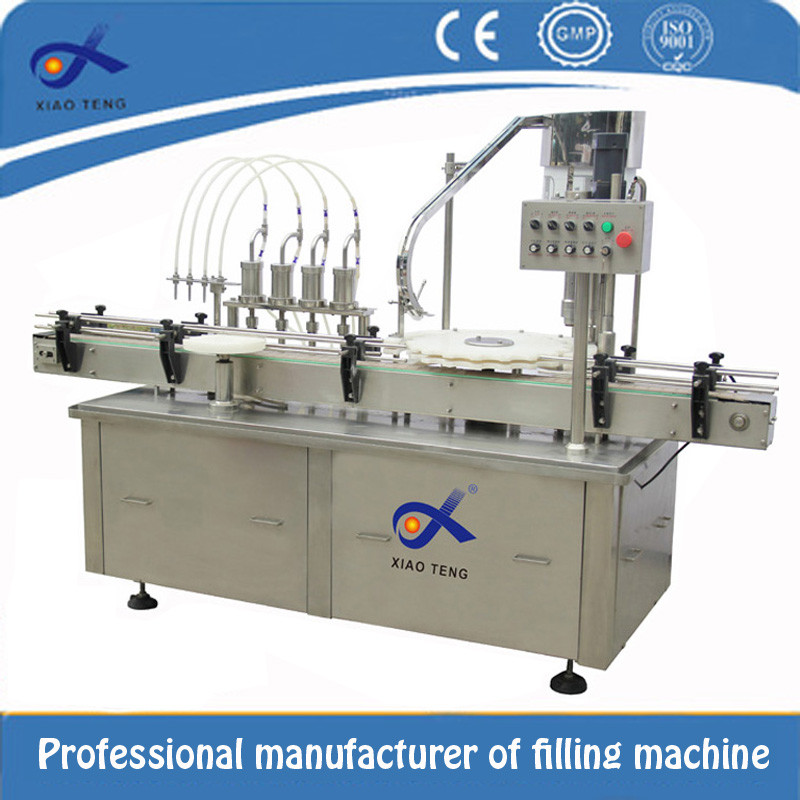 CE certification automatic 10ml ampoule filling and sealing machine