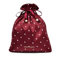 Hot selling attractive style pretty custom non woven draw string bag