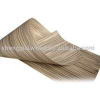 0.5mm 1mm reconstituted wood veneer/engineered wood face veneer/recon wood veneer sheets for decorative furniture