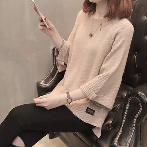 woman top women puff sleeve knitted sweater