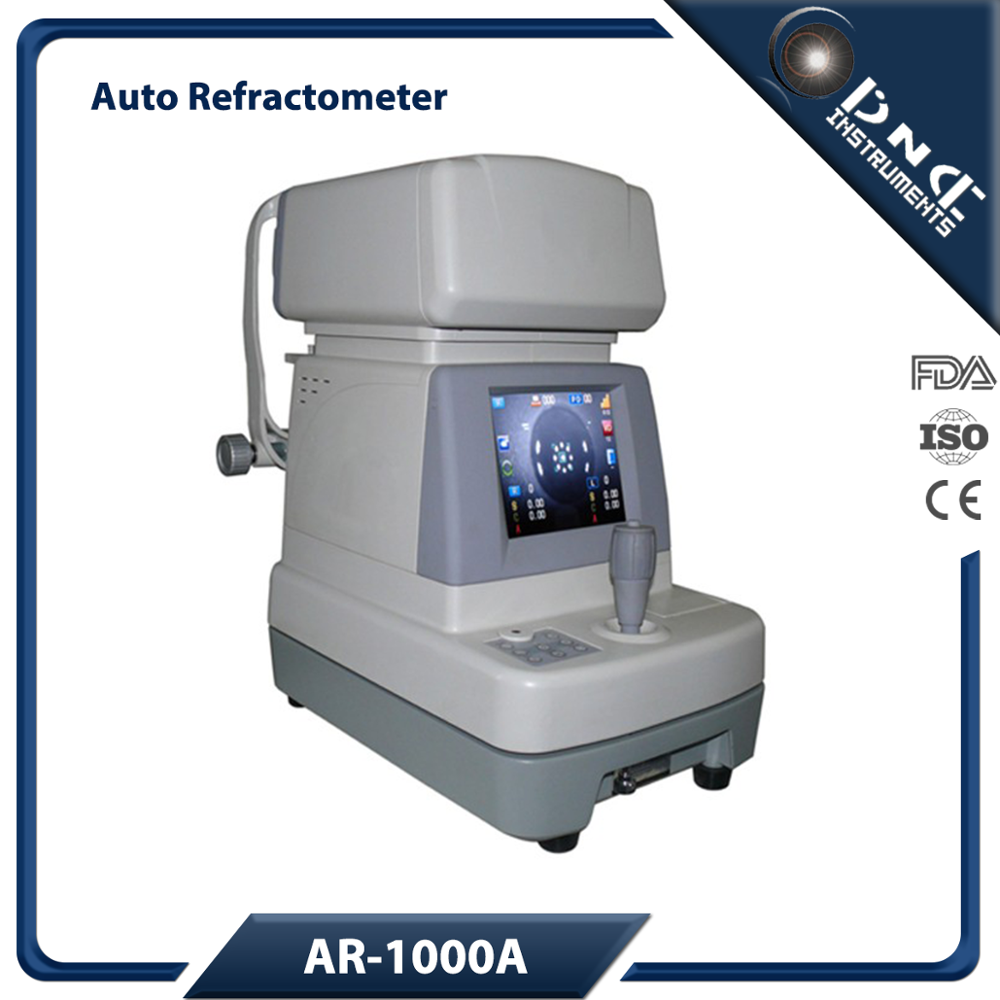 AR-1000A Ophthalmic Eye Test Machine Digital Auto Refractometer