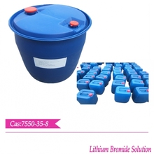 Lithium Bromide 55% Solution for Absorbing vaporized refrigerants