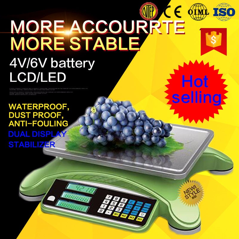 2015 hot and cheapest OEM/ODM digital pricing scale ,Electric platform scale, battery,Loadcell,weighing scale