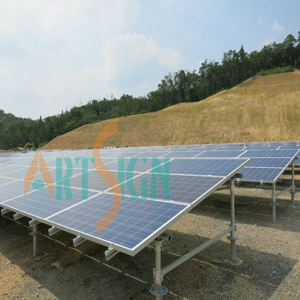 Installation in Japan for single large project solar panel system