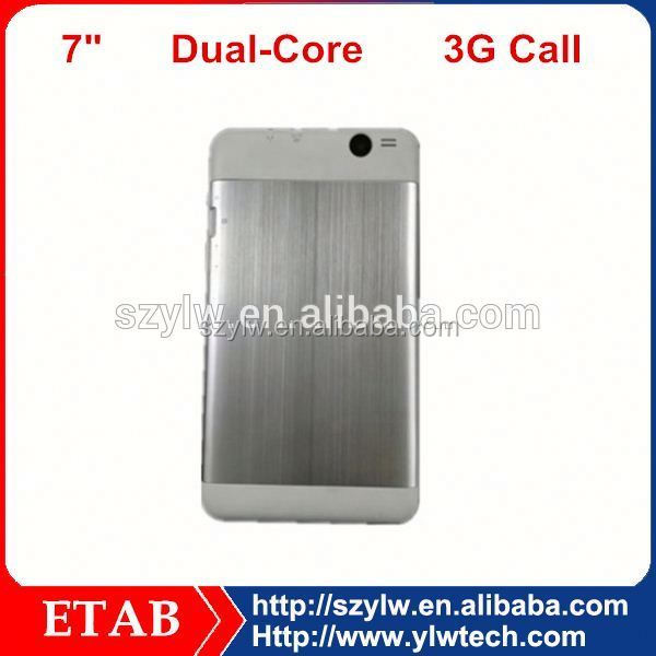 MTK6572 Dual core 7 inch cheap gsm phone call android tablet