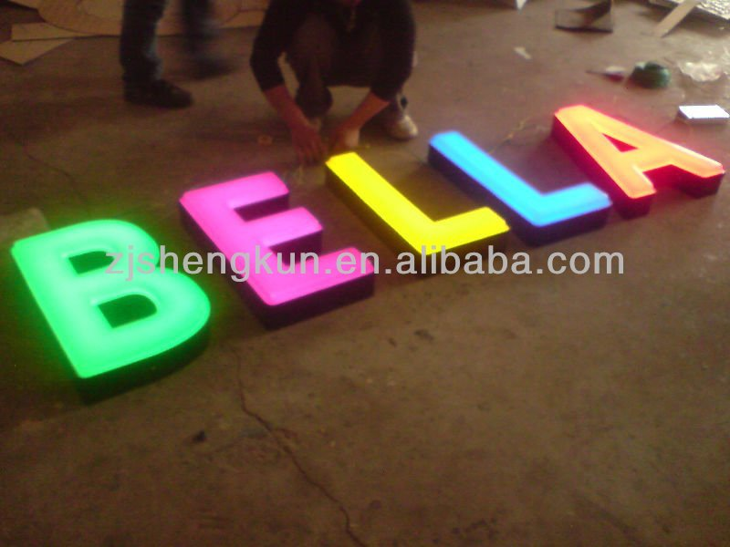 aluminum led lighted letters aluminum led lighted letters suppliers and manufacturers at alibabacom