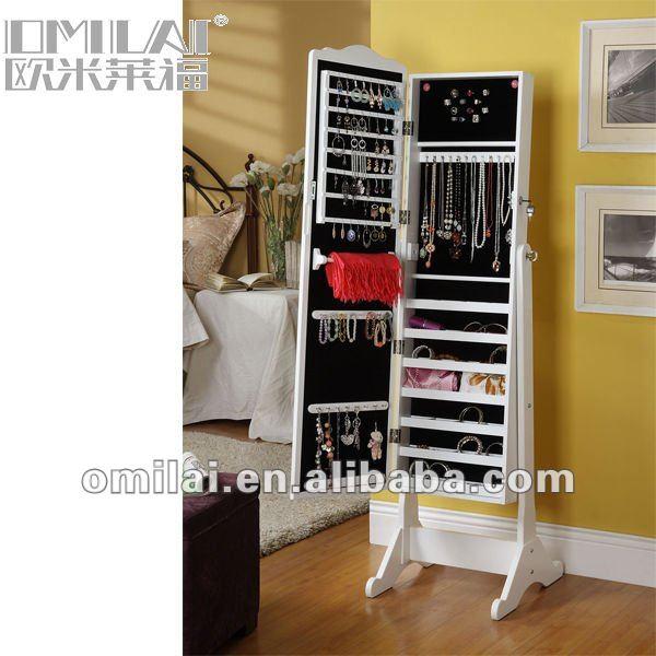 Full-length Jewelry Wardrobe Mirror Armoire - Buy Black Mirror Jewelry  Armoire,Jewelry Armoire Mirrored,Jewelry Mirror Wardrobe Product on  Alibaba.com