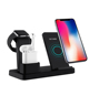 Free Shipping's Items Multifunctional Qi Wireless Charger For iPhone Stand