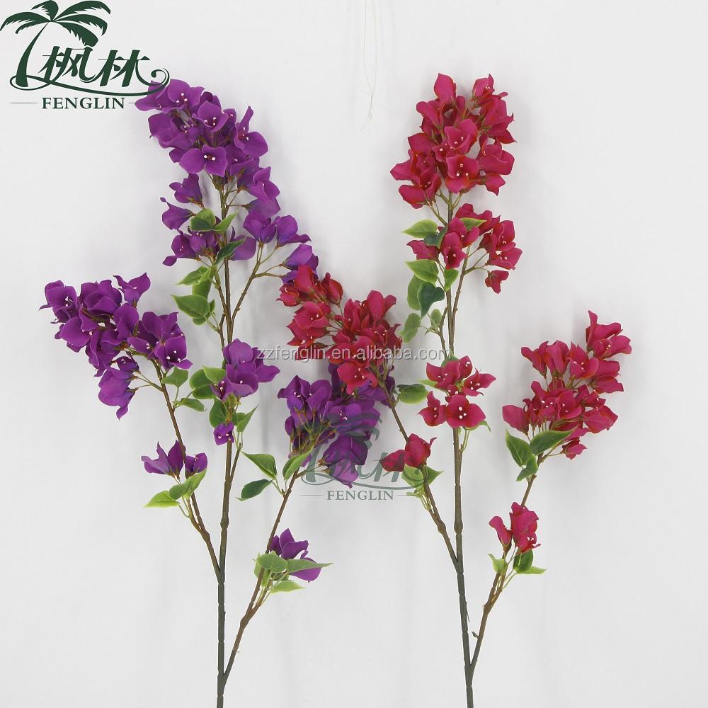 98cm Wholesale Artificial Bougainvillea Flowers Making Buy