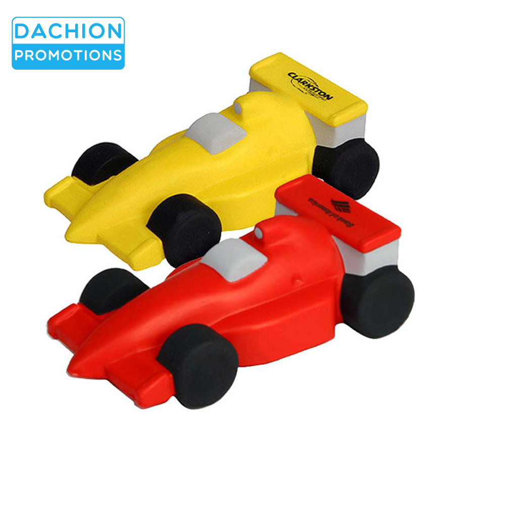 Logo printed Race car stress balls