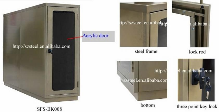 Bike storage containers outdoor bike lockers steel bike for Outside storage units for sale