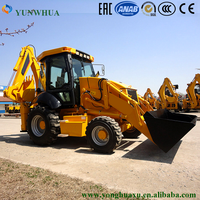 3 point wheel towable backhoe loader attachment for sale
