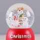 Christmas Western Large Snow Globe Ball For Souvenir