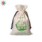 New design sublimation printing small cotton drawstring shoulder bags drawstring backpack