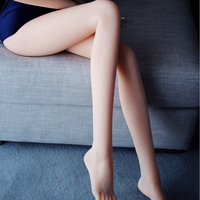 2017 Sexy Adult AV Erotic Adult Silicone Long Leg Doll Masturbation Toy From Japan