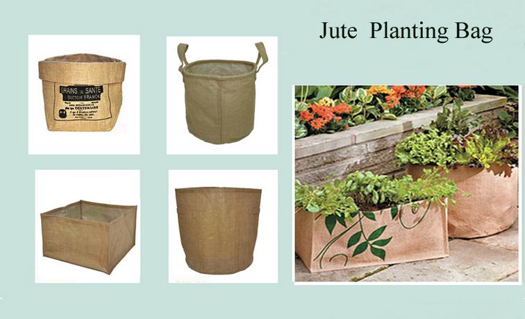 Burlap Grow Bags Garden Jute Gunny Ng Plants And Seeds